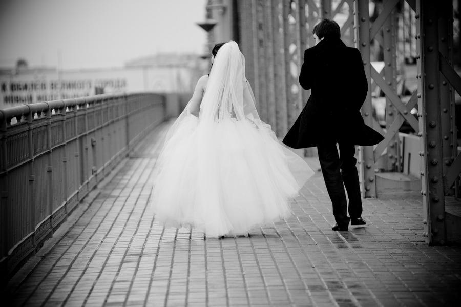 Черно белые картинки свадебные